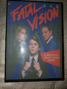 Fatal vision (part 1 and 2) True Crime dvd ~Gary Cole ~ULTRA RARE