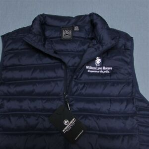 STORMTECH PACKABLE NYLON QUILTED VEST--XL--POLY FILLER--LOGOs--UNWORN!--NEW!TAGS