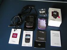 Blackberry Curve 9300 Cell Phone T-Mobile Wi-Fi Gsm Sd Card Charger Adaptor More