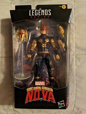 Marvel Legends The Man Called Nova Action Figure New Sealed * FLASH AUCTION* GO!