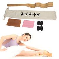 Wooden Ballet Foot Stretch Stretcher Arch Enhancer Elastic Band Dance Gym Gift