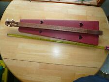 BACKYARD/ FOLKART  DULCIMER FINISHED IN RED  CARDBOARD SOUNDBOX