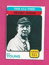 1973 TOPPS # 477 CY YOUNG VICTORY LEADER  NRMT+  CARD (INV# A8195)