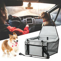 Large Size Car Seat Carrier Cat Dog Pet Puppy Travel Cage Booster Belt New