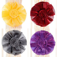 1Pcs Room Window Magnetic Curtain Tieback Clip-on Rose Flower Tie Holder Hot