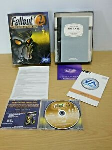 Fallout 2 PC 1999 Big Box version in VGC throughout Disc is near mint