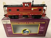 ✅MTH PREMIER SANTA FE SUPER CHIEF LIGHTED CABOOSE NEW!