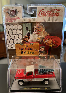 M2 Coca-Cola 1969 Ford F-100 Ranger Truck Christmas Tree 🎄 Limited Edition