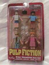 "PULP FICTION MiniMates ""Diner showdown Box set"" Vincent, Jules, Pumpkin, Honey B"