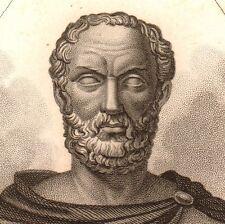 Portrait XIXe Thucydide Grèce Greece Histoire Θουκυδίδης Antiquité Thucydides