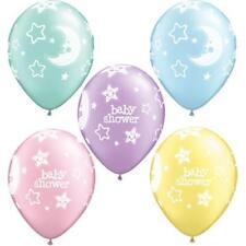 Globos de fiesta azules de ovalada de baby shower