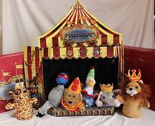 Restoration Hardware Puppet Theater Cardboard Circus Animal Box Murdock & Ross