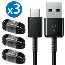 3x Type C Cable Fast Charger Data Sync Cord For Samsung Galaxy S8 S9 S10 Note8 9