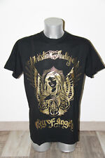 black tee shirt/golden ED HARDY audigier city of angels SIZE XXL NEW LABEL