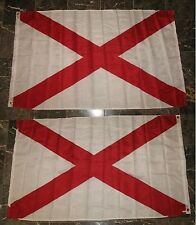 3x5 State of Alabama 2 Faced 2-ply Wind Resistant Flag 3x5ft