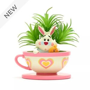 Disney Walt Disney World Jerrod Maruyama White Rabbit Artificial Potted Plant