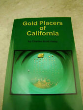 """""""Gold Placers of California"""" Book By Haley - Mining-Prospecting-1923 Version"""
