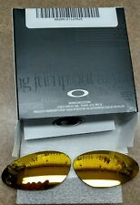 OAKLEY PENNY 24K IRIDIUM LENSES ONLY AUTHENTIC REPLACEMENT AUTHENTIC CUT GOLD