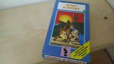 hunky and spunky - Kids Childrens - video tape VHS *1498
