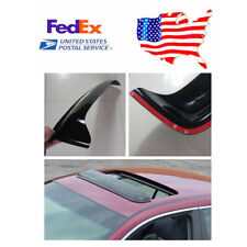 US Stock ! 1pcs Skylight Roof Visor Vent Wind Rain Guard - Dark Smoke Color
