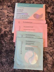 Patchology Flashpatch Wink & A Kiss 5 Minute Eye &Lip Gels, New