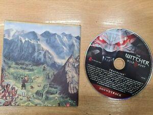 The Witcher 3: Wild Hunt MAP + Cd Soundtrack Original UK English Genuine