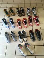 1/6 scale toy sneakers nike dunk sb medicom supreme tweed luckys 10 pairs