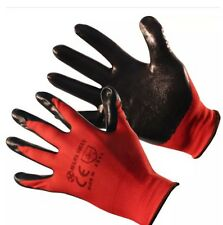 JOB LOT OF 240 pairs Nitrile Coated Precision Work Safety Glove Size 10xl Cat 2