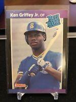 1989 Donruss Ken Griffey Jr. Rated Rookie #33
