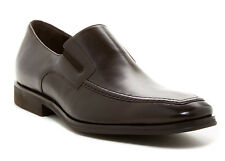 Bruno Magli Men's Raging Leather Slip On Loafers Shoes Size 9 M Brown