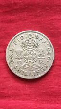 George VI 1950 Florin / Two Shilling Coin Key Date