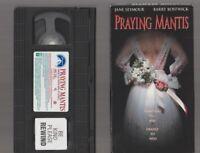 PRAYING MANTIS Horror VHS video Movie Gore Cult Slasher Sex THE