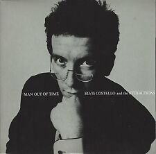 "ELVIS COSTELLO - MAN OUT OF TIME / TOWN CRYER - UK 1982 7"" VINYL - XX 28"