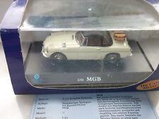 American Mint Premium Edition MGB Cabriolet Beige - Schwarz  1:43  mit OVP
