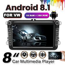 "8"" 2Din Radio de coche Android Player GPS para VW Golf5 Passat Touran Seat Skoda"