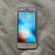 Apple iPhone 5 - 16GB - White & Silver A1428 (GSM) READ DESC