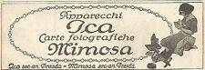 Y2885 Apparecchi fotografici ICA - Pubblicità del 1923 - Old advertising