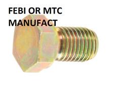 FEBI OR MTC MANUFACT Engine Oil Drain Plug 07 11 9 919 225