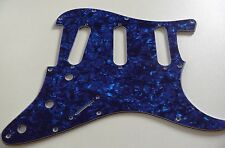 NEW PICKGUARD STRATOCASTER SSS blue pearl 3 ply pour guitare strat
