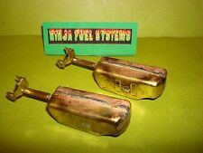 CARTER THERMOQUAD CARBURETOR BRASS FLOAT PAIR THERMO QUAD FLOATS