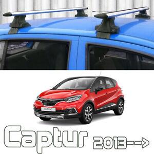 Renault Captur SUV Normal Roof Rack Cross Bars Spacial Series 2013-2019
