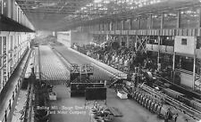 Rouge Michigan~Ford Motor Co~Rolling Mills Equipment~Workers Break~1940s? RPPC