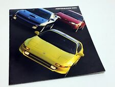 1993 Toyota Paseo Celica MR2 Brochure - French