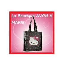 SAC de Plage ou de shopping 36X34X9cm  HELLO KITTY AVON NEUF