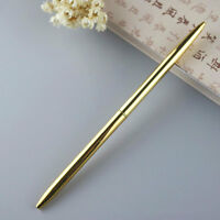 Office/Business Signature Stainless Steel Rod Rotating Metal Ballpoint Pen Gift