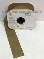 25 YARDS - 4 INCH VELCRO® Brand HOOK Fastener Sew On MilSpec Military Tape KHAKI
