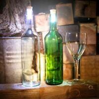 2 St. LED-Flaschenlicht Leuchtende Flaschen Korken Weinkorken Flaschenverschluss