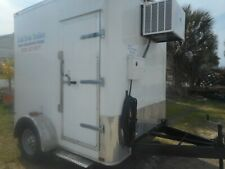 Refrigerated Walk In Cooler/Freezer Trailers Custom 2020 no waiting ready p/up