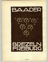1926 Ludwig Hohlwein Munchen Baader Prtzils Peruvian Cotton Fabric Poster Print