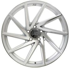 20X8.5 20X11 +22 F1R F29 5X114.3 SILVER WHEEL FIT NISSAN 5X4.5 CONCAVE STAGGERED